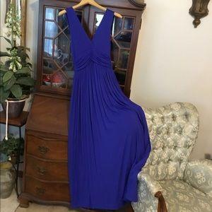 Jolie Long Blue Dress